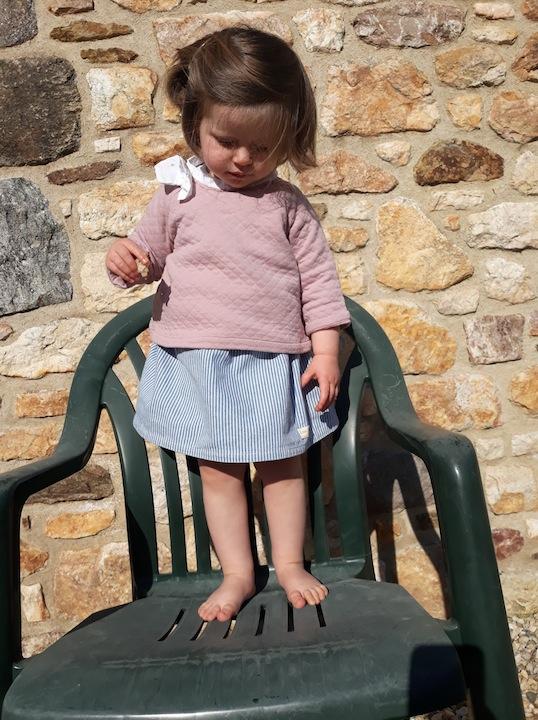 Jupe Madeleine élastique oshkosh rayur