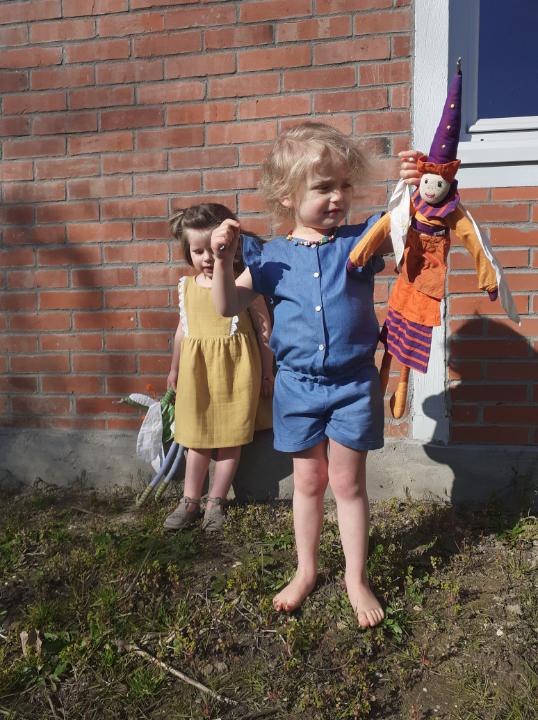 Combishort Mary en jean